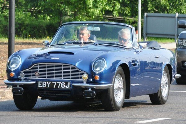 Prince Charles Drives Classic 49 Year Old Aston Martin That Runs on White Wine