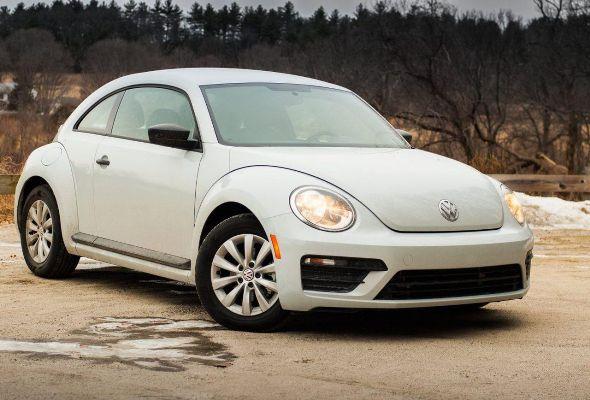 cars suitable for men. volkswagen new beetle