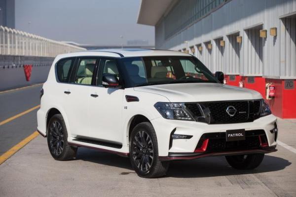 Nissan patrol guiness world record
