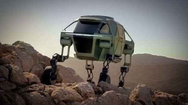 Behold The Walking Car Design With 'Limitless' Possibilities Unveiled By Hyundai