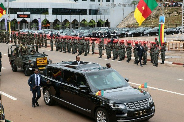 Cameroon President ,Paul Biya, Has The Most Luxurious And Safest Presidential Car In Africa