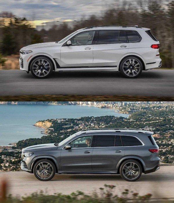 Photo Comparison :2020 Mercedes GLS Vs 2019 BMW X7, Which