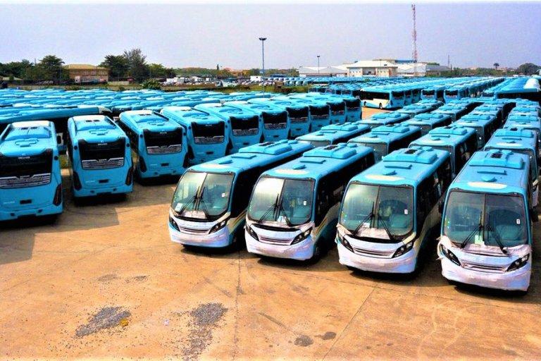 Buahari Commission BRT Bus Lagos 6