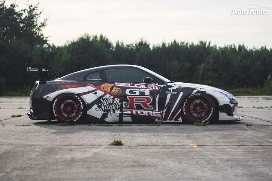 Nissan GT-R Liberty Walk LB Performance