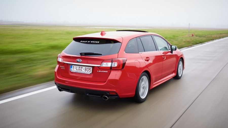 Subaru Levorg final