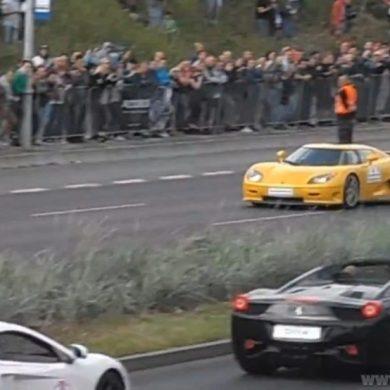 Koenigsegg crash