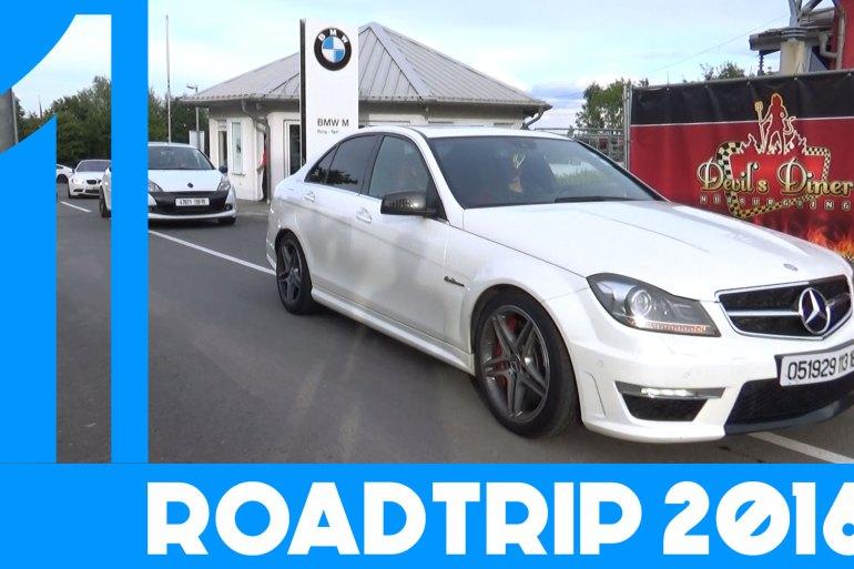 DAY1 | Spa Francorchamps & Nürburgring | Roadtrip 2016