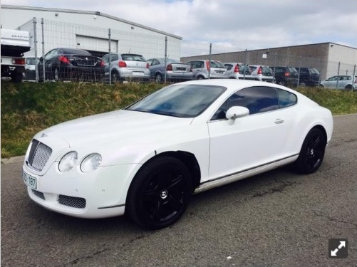Bentley continental te koop
