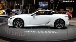 Autosalon Brussel: Lexus LC500 / LC500 hybrid