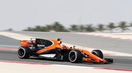 F1 GP Bahrain: Vandoorne niet gestart, overwinning voor Vettel