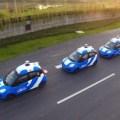 Китайские беспилотные автомобили во время тестирования.