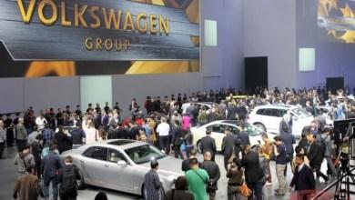 Автосалон в Китае с экспозицией компании Volkswagen