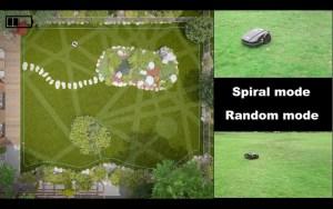 Spiral and random modes