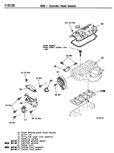 Mitsubishi L400 95-98 Workshop Manual. Ремонтное
