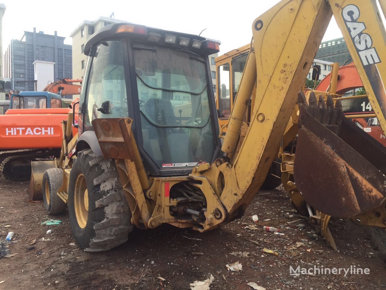 hight resolution of photo case 580m backhoe loader