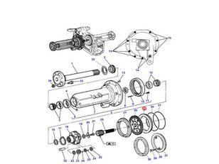 (3382187M3) piston for MASSEY FERGUSON 2000 3000 3100 3600