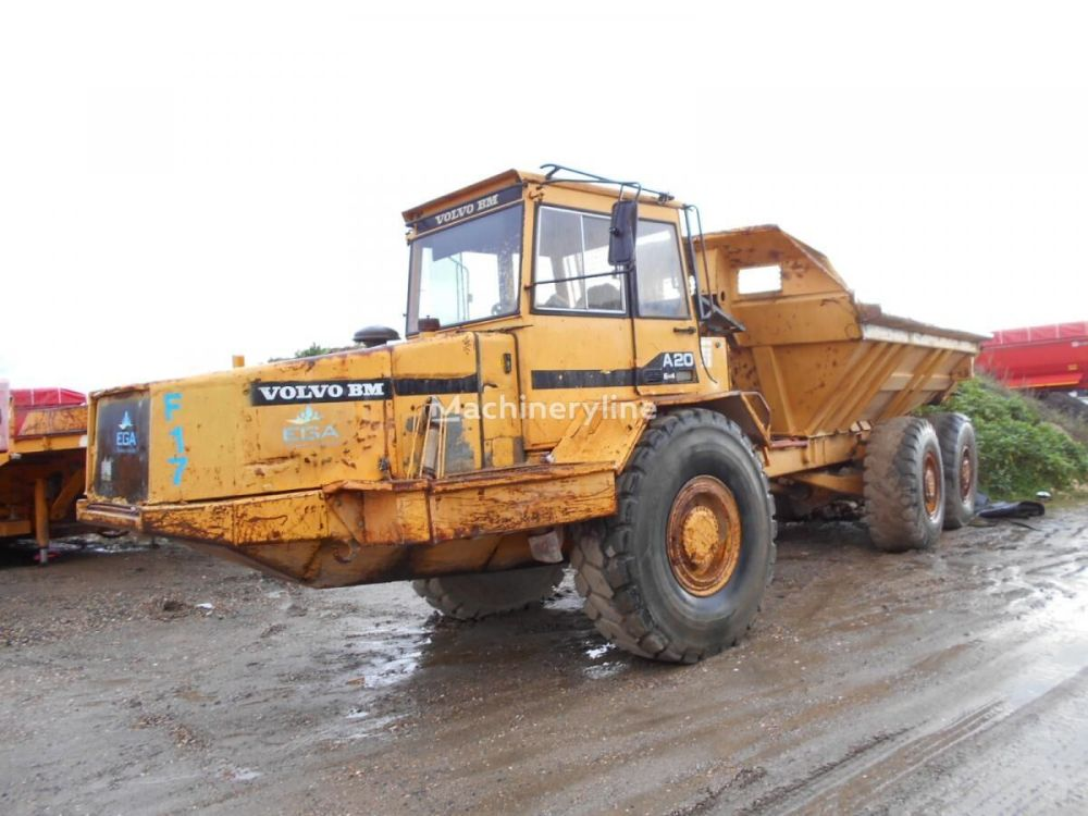 medium resolution of volvo a 20 articulated dump trucks for sale articulated dumper articulated hauler from france buy articulated dump truck aq14385