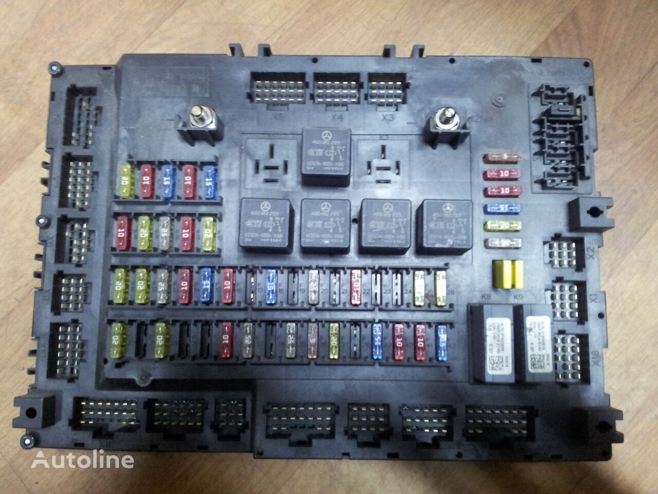 hight resolution of mercedes benz actros mp4 euro6 grundmodul fuse box relay box