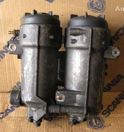 scania obudowa filtra paliwa fuel filter for scania xpi d9 d13 tractor unit [ 1024 x 768 Pixel ]