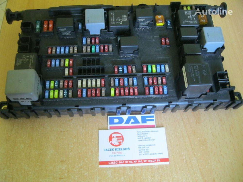 medium resolution of daf fuse block for daf xf 106 tractor unit