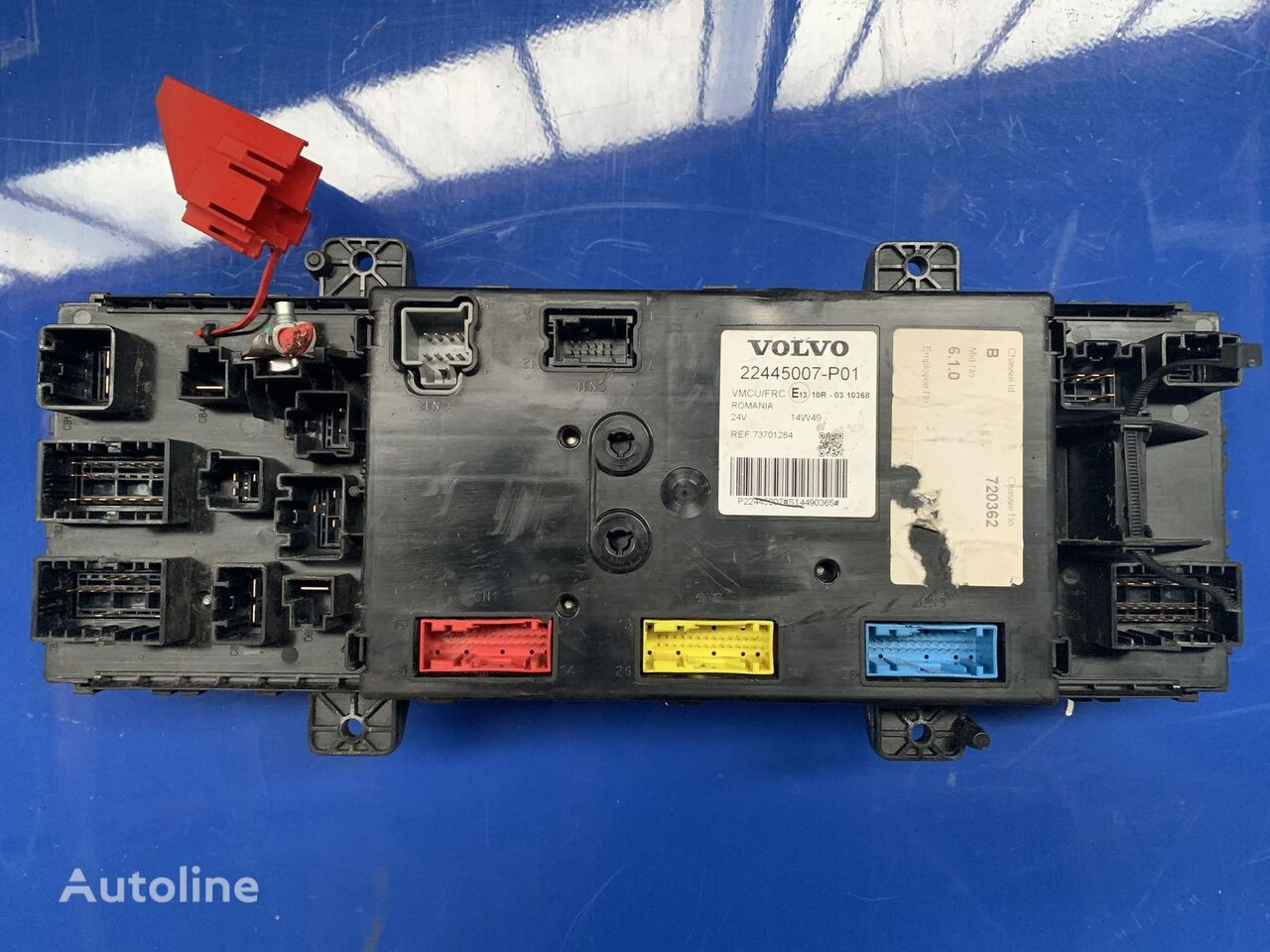 hight resolution of volvo fm11 22445007 fuse block for tractor unit