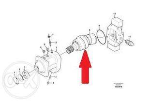 VOLVO V11-250-MS-SN-S-000-AC01-150/100-250/055-0 hydraulic