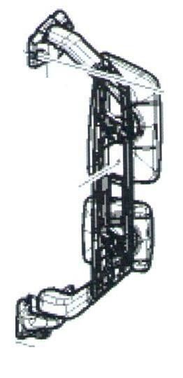 New VOLVO FH EURO 6 (82943356.82943538.) rear-view mirror