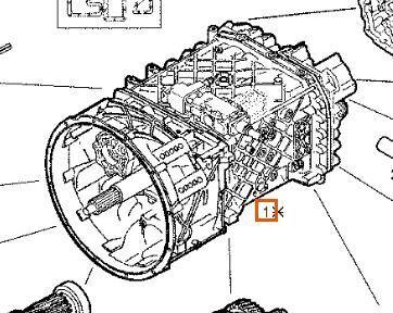 بيع علبة السرعات لـ الشاحنات IVECO EuroTech (MP) FSA (400