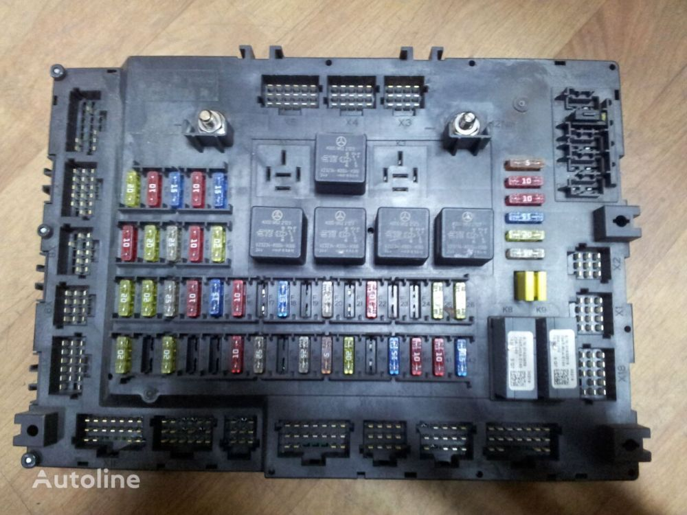 medium resolution of  mercedes benz actros mp4 euro6 grundmodul fuse box relay box