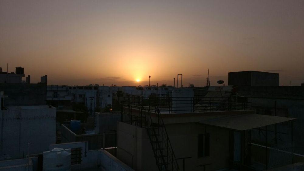 moto g4 plus sunset