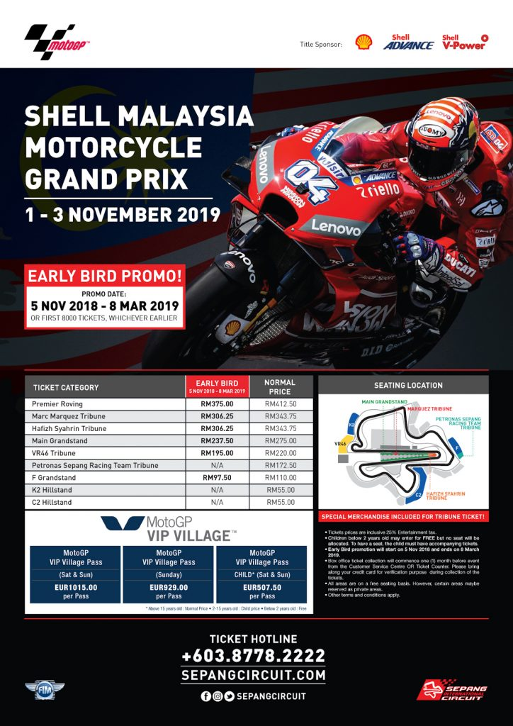 Tiket Motogp Sepang 2018 : tiket, motogp, sepang, Sepang, Circuit, Ready, Action, Automacha