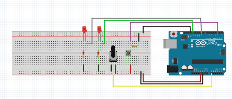 cablage arduino while statement conditionnal 01