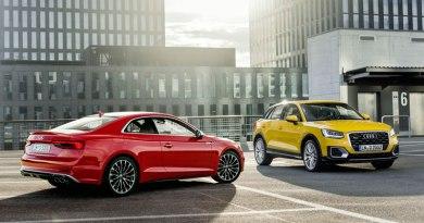 Euro NCAP: Cinco estrellas para los Audi A5 y Q2