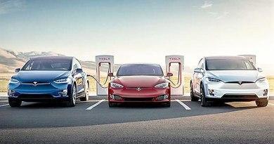 Super cargadores de Tesla más cerca del resto de los fabricantes