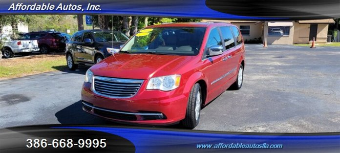 2011 Chrysler Town Country Touring L For Sale In Debary Fl Stock 10839