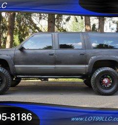 1999 chevrolet suburban k1500 lt 4x4 lifted bumper lifted 18s 35s mint photo 1  [ 1280 x 854 Pixel ]