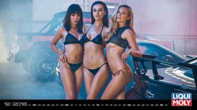 Liqui Moly erotski kalendar za 2019.