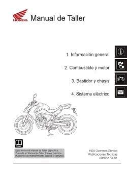 Manual Moto Honda CB 1100 Taller en PDF