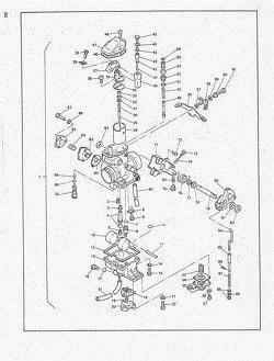 Manual Moto Yamaha YZF R6 1999 Taller en PDF TRANSMISION