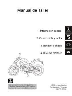 Manual Moto Yamaha TT600 Taller en PDF