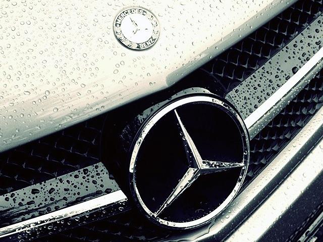 Mercedes Logo, embléma, jel