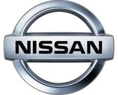 Nissan autó embléma