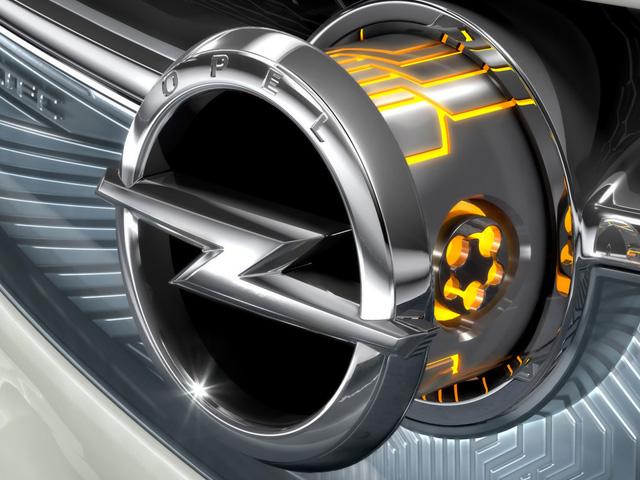 Opel embléma logó