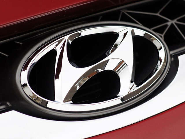 Hyunday autó logó
