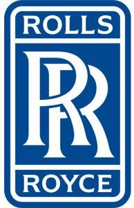 Rolls Royce kék logó