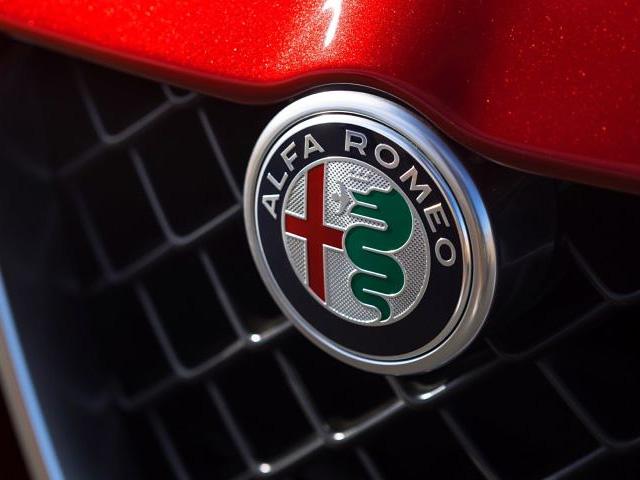 Alfa Romeo autó logó, jel