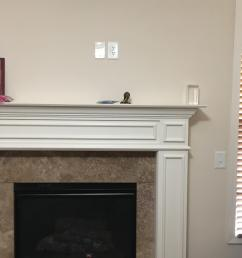 also this assumes you control the fireplace using a wall switch when you flip the switch the fireplace comes on if you have that type of fireplace  [ 3024 x 4032 Pixel ]