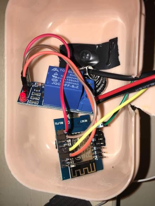 small resolution of garage door opener wemos schematic my wemos and relay