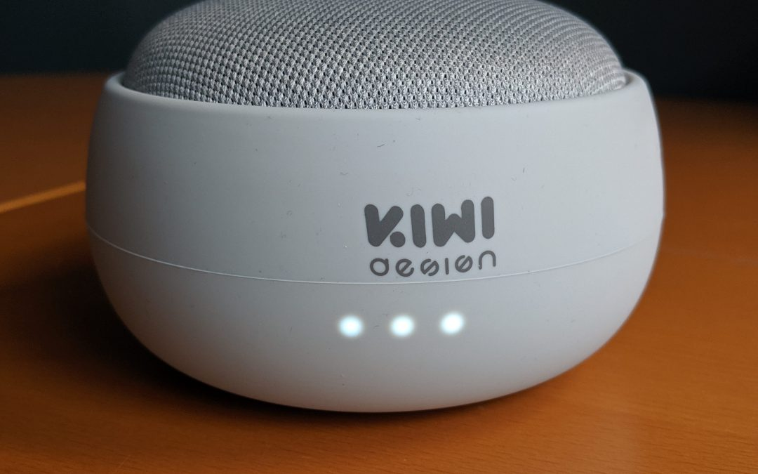 G1 Battery Base for Google Home Mini by Kiwi Design Labs