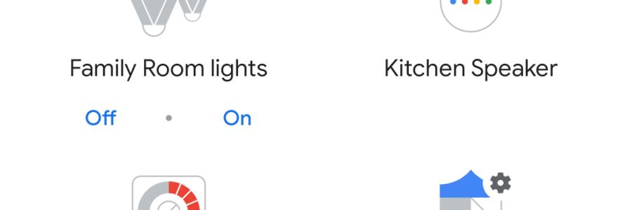 Screenshot of Google Home Setup screen